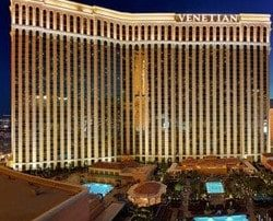 The Las Vegas Venetian Casino offers a $450 000 VIP package