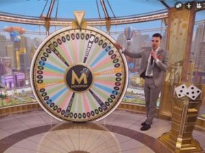 Monopoly Live is an Evolution Gaming Wheel of Fortune