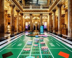 Giant Roulette at Monte-Carlo Casino's Atrium