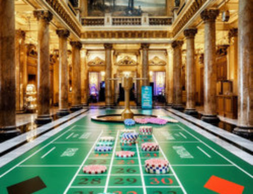 Giant Roulette at Monte-Carlo Casino's Atrium