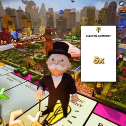 Monopoly Live, 3D game with live dealer available in MrXbet