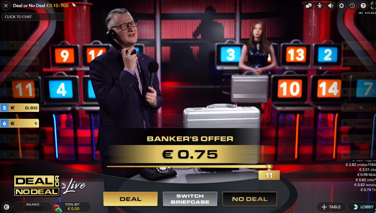 Studio of Deal or No Deal