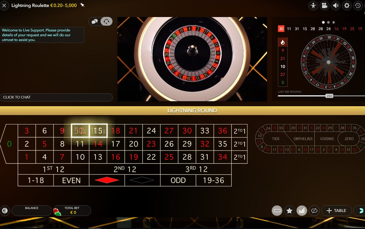 streaming roulette, live dealer