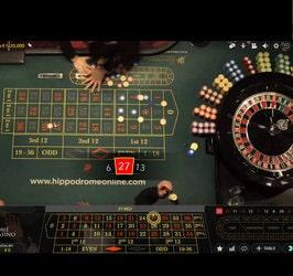 Hiipodrome Casino, live roulette