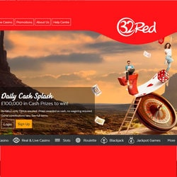 Daily Cash Splash bonus at 32Red