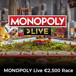 Cash Prize Monopoly Live Races Come to Mr Green casino