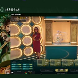 Play Live Mega Ball at DublinBet Casino