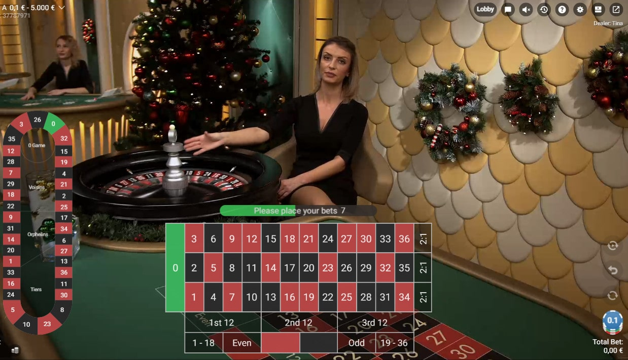 Online Roulette Game by Pragmatic Play Live Casino