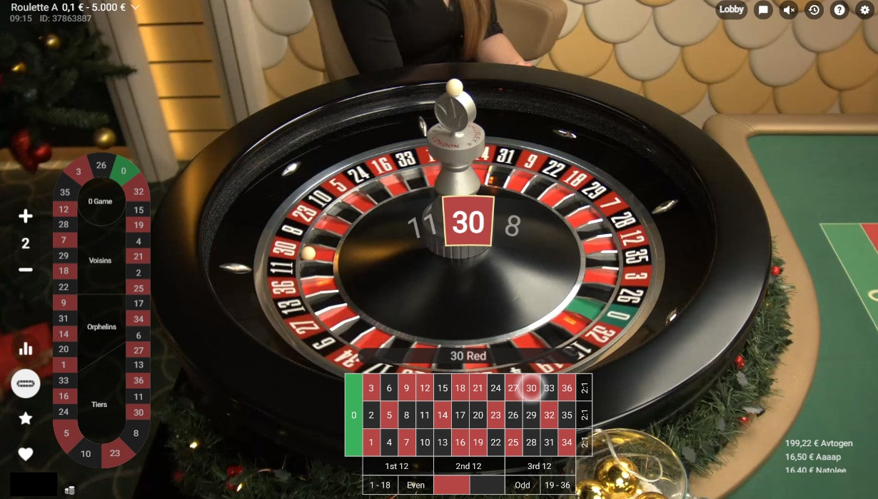 Winnings of the Roulette Azure by Pragmatic Play Live