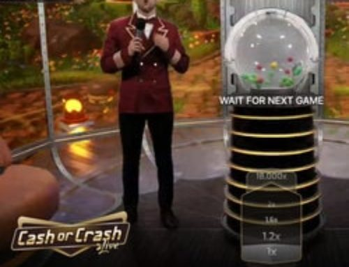 Evolution Has Released a Brand New Game Show –  Cash or Crash