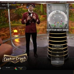 Evolution Has Released Cash or Crash a Brand New TV Show